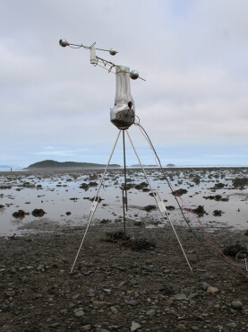 Pascal Dufaux, Probe at Low Tide, 2014 digital photograph on fabric paper Courtesy of the artist