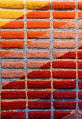 Michael Snow, Untitled, 1976, acrylic fibre tapestry