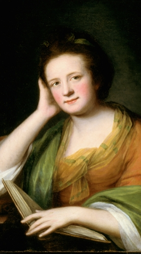 Catherine Read, Frances Brooke, (detail), oil on canvas, ca. 1771, Library and Archives Canada, c117373k