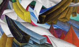Kathleen Munn, Untitled, 1926-8, oil on canvas, 37 x 60 cm. Collection of the National Gallery of Canada.