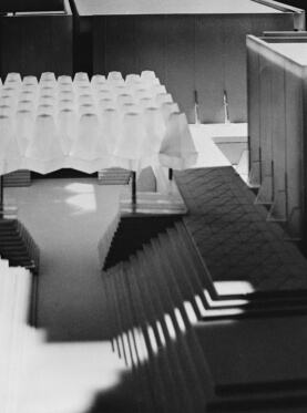 Model for Confederation Centre of the Arts, (detail), 1961