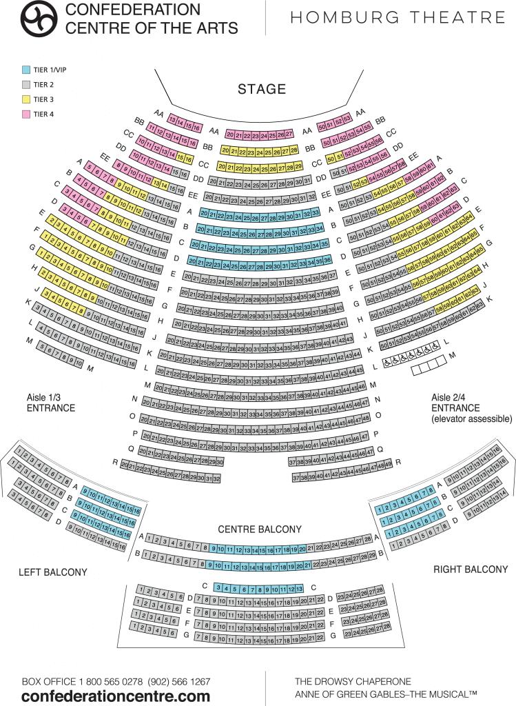Homburg Theatre Seating Chart